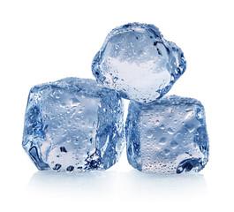 Three pieces of ice