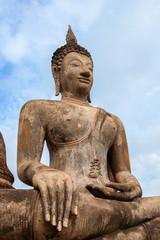 Buddha statue in Sukhothai, Thailand