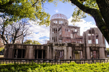 Atomic Bomb Dome, the building was attack by atomic bomb in worl