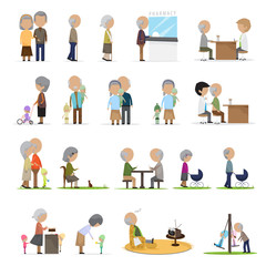 Older People In Different Situations - Isolated