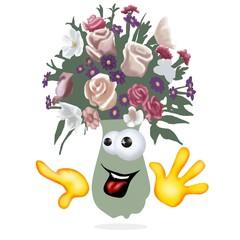 vaso di fiori bis