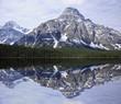 Mountain landscape. Banff National park.