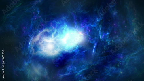 Space scenics background