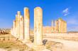 Roman Ruins of Gerasa in the ancient Jordanian city of Jerash