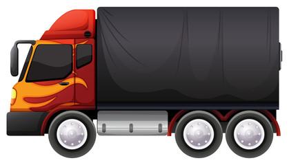 A luggage truck