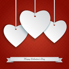 Valentine' day background. Vector illustration