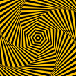 Abstract background with optical illusion effect.
