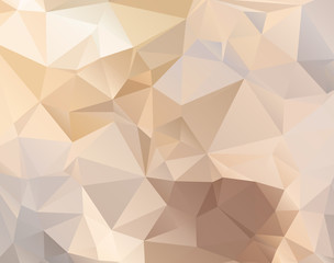 Abstract polygonal background in pastel colors