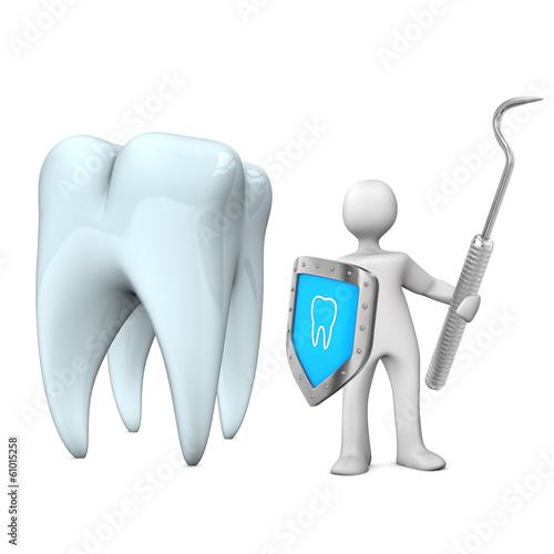 Dentist Shield Scaler