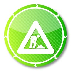 sustainable construction site symbol
