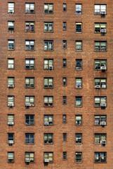 Gebäude mit Klimaanlagen, New York