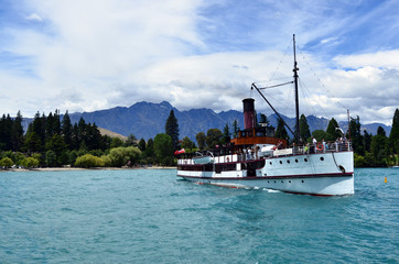 TSS Earnslaw in Queenstown NZ