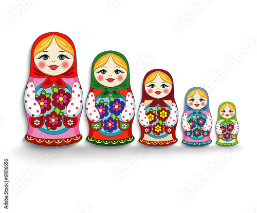 set of nesting dolls