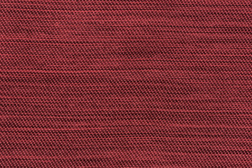 Red texture fabric