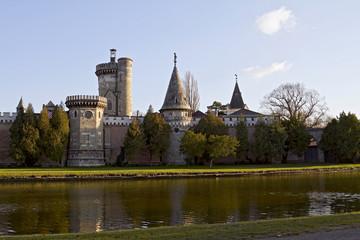 Romantic garden castle Franzensburg