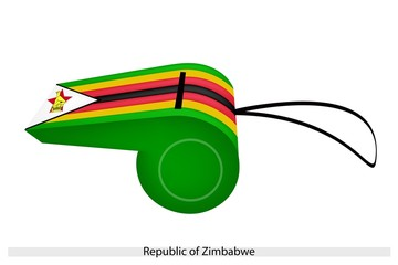 A Whistle of The Republic of Zimbabwe