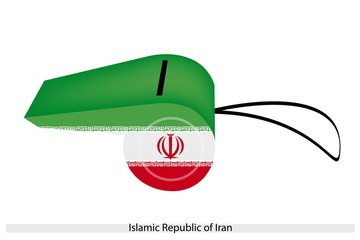 A Whistle of Islamic Republic of Iran