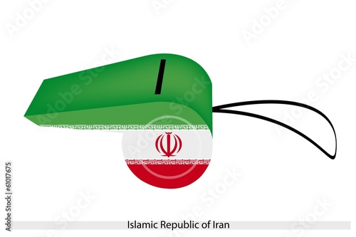 A Whistle of Islamic Republic of Iran