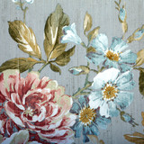 Fototapety Vintage wallpaper with floral pattern