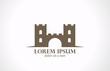 Logo Castle abstract vector icon design. Real Estate concept - 61019048