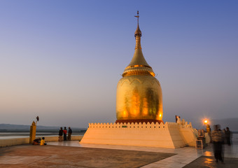 Bupaya pagoda in Bagan, Myanmar