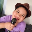 boy sing a song