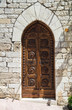 Wooden door. Assisi. Umbria. Italy.
