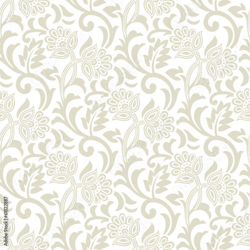 Floral seamless vector design