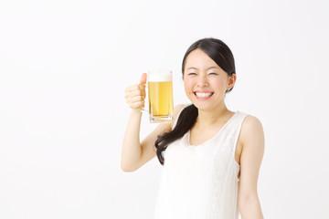 ビール・女性