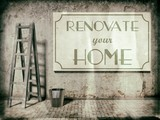 Renovate your home on wall, Time to Refurbishment poster
