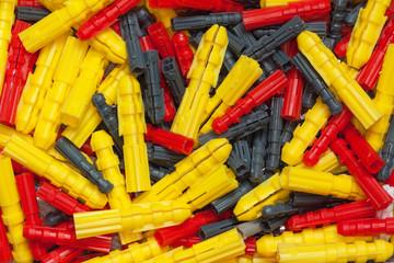 Assortiment de chevilles en plastique