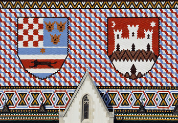 Roof of St. Marks Church, Zagreb