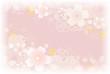 桜背景 ピンク