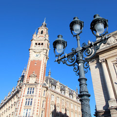 Lille - Beffroi / Palais de la Bourse (CCI)