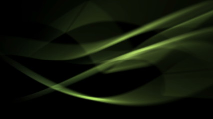 abstract energy background of green light curves (FULL HD)
