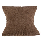 Soft pillow made of dark fabric