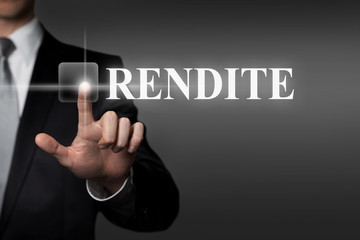 touchscreen - Rendite