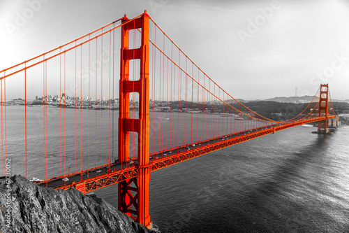 Fototapeta Golden Gate, San Francisco, Kalifornia, USA.