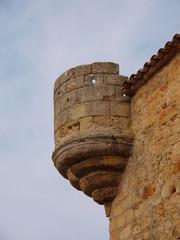 Punto de vigía en castillo
