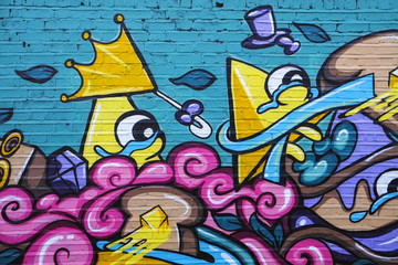 Brick Lane, Grafitti Art, London