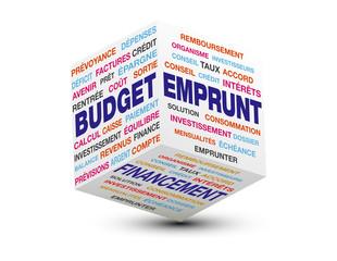 cube budget emprunt financement