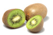Kiwi fruit Isolatet on white background