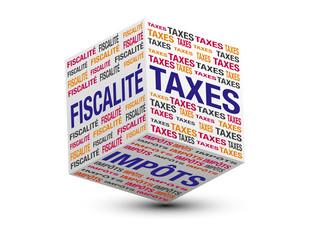 cube fiscalité, taxes, impôts