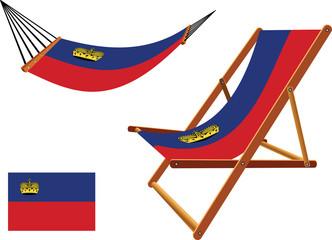 liechtenstein hammock and deck chair set