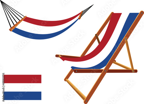 netherlands hammock and deck chair set