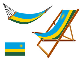 rwanda hammock and deck chair set