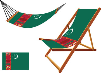 turkmenistan hammock and deck chair