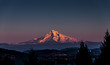 Leinwandbild Motiv Mount Hood at Sunset