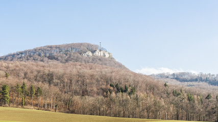 Gempen, Gempenturm, Aussicht, Winter, Schweiz