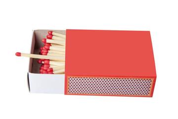 Red matchbox.